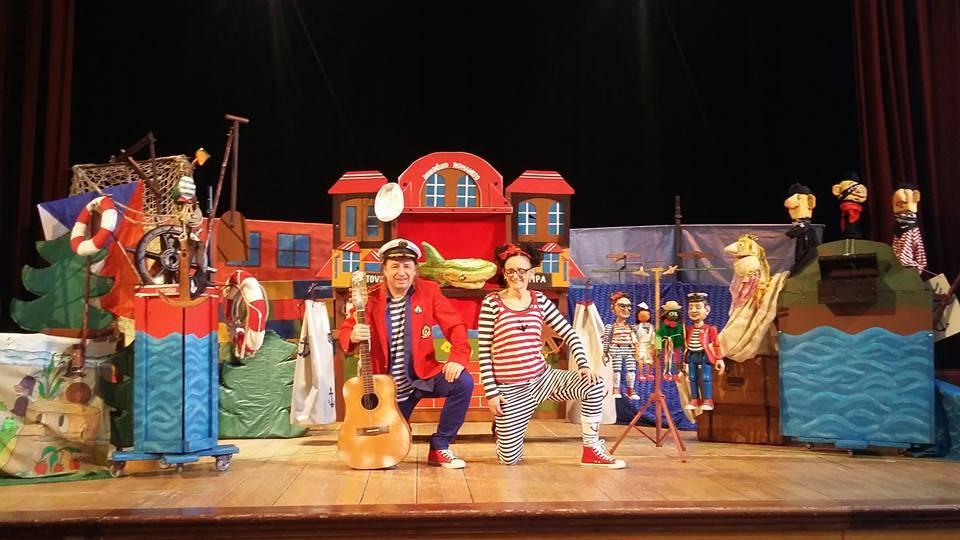 Dětské zpívánky a divadélko